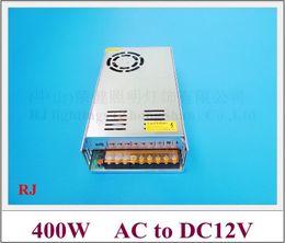 2019 geregelte transformator stromversorgung für led DC12V 400W LED-Schaltnetzteil LED-Schalter Transformator-Treibereingang AC110V / AC220V Ausgang DC12V 400W 33A CE ROHS