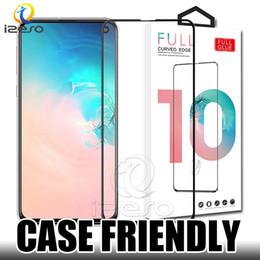 Canada Protecteur d'écran 5D Full Glue en verre trempé de couverture pour Samsung A10 A50 A70 A80 iPhone XS MAX XR Huawei P30 avec emballage de finition Offre