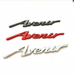 Crachá sintonizado on-line-Auto Decoração Acessório Decalques Do Carro de Metal Avenir Car Boot Sticker C Pilar 3D Metal Auto Emblema Lateral Emblema Tuning para Buick Regal Lacross