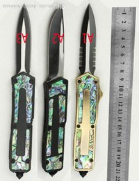 facas de escaravelho Desconto Shell Aviação alça de alumínio A16 Escaravelho faca automática E07 Caça 162 BM42 faca de bolso faca de acampamento ferramenta de sobrevivência ao ar livre táticas kniv