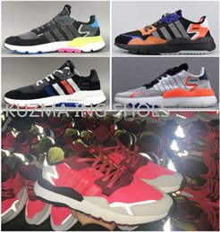 2de093145fd1 Men s Nite Jogger 2019 Running Shoes Womens White Black Originals Classic  Casual MINT Sports Trainers shoes sliver Boost bottom Sneakers