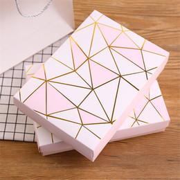 latas redondas de regalo Rebajas Papel Kraft de la galleta de la torta de embalaje caja de regalo caja de galletas de embalaje Paquete Hot Stamping regalo de cartón caramelo de la boda de lujo
