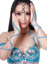 costume del robot Sconti Accessorio di danza del ventre 1pz Manica a serpente con ricamo perline