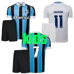 Argentina 2019 2020 Gremio home GEROMEL EVERTON Mejores camisetas de fútbol 19 20 Gremio kids portero amarillo KANNEMANN LUAN camiseta blanca de fútbol cheap football goalkeeper jerseys Suministro