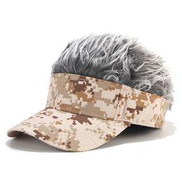 le più belle parrucche Sconti Nuovi tappi per parrucche Dreadlocks per capelli Cappelli Novità Cappelli per feste Regali di compleanno Fantastico costume divertente Bavaglio Halloween Hip Hop Cappello parasole unisex