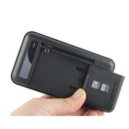 lg baterias de telefone celular Desconto Carregador de bateria inteligente universal da parede do telemóvel para a galáxia S5 S4 NOTA 3 4 Indicador do diodo emissor de luz da UE PLUGUE de UE Xiaomi Nokia Sideslip UK PLUG
