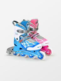 rollerhandtaschen Rabatt Skate Kinder Ganzanzug Anfänger 3-6-12 Jahre alte Männer und Frauen verstellbare Rollschuhe