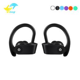 Visite de casque en Ligne-Oreillette Bluetooth Bluetooth 5.0 Écouteur Mains-libres tour d'oreille Casque Mini Casques Sans Fil Écouteurs Écouteur Pour iPhone xiaomi K5112