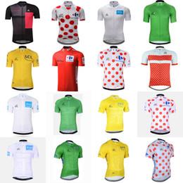 tour jersey jersey Desconto Tour de france equipe ciclismo jersey tops verão de corrida de ciclismo clothing manga curta camisa de bicicleta camisa 61011