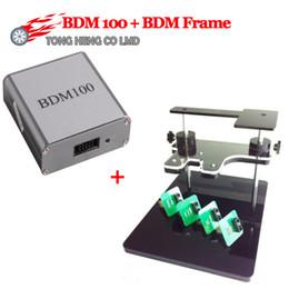 Venta al por mayor BDM Frame Full Adapter + BDM100 Programador OBD2 OBDII ECU Chip Tuning Tool 100 diagnóstico envío gratis desde fabricantes