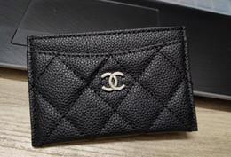 Porte-mariage pour cartes en Ligne-mode Mini portefeuille avec titulaire célèbre logo noir PU sac titulaire de la carte porte-monnaie cadeau de luxe VIP cadeau de mariage