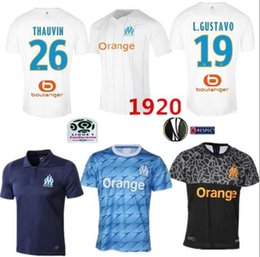 72340988206 NEW Top quality Olympique de Marseille Soccer jersey 2019 OM Marseille  Maillot De Foot PAYET ANGUISSA L.GUSTAVO jerseys 19 20 Marseille shir