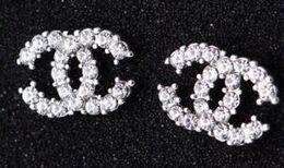 Закругленная сталь онлайн-60 стили модные серьги Серьги мода ювелирные изделия розовое золото серьги для женщин из нержавеющей стали Стад цирконий Стад круглые серьги