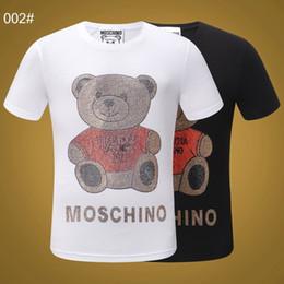 4a5e9cfb2f orso di camicia rossa Sconti Moda uomo t-shirt uomo Abbigliamento estivo  magliette per uomo