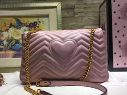 Nouveau cadeau 31cm 443496 Mode noir en cuir de vache chaîne maquillage sac célèbre sac de fête de luxe Marmont sac à bandoulière en velours Femmes designer sacs ? partir de fabricateur