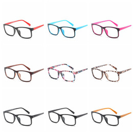 blaue brillengestelle Rabatt Mode Anti-Blau Schutz Brillen Computer Brillen Rahmen Frauen Männer Retro Flachen Spiegel Brillen Rahmen Optische Brillen RRA1144