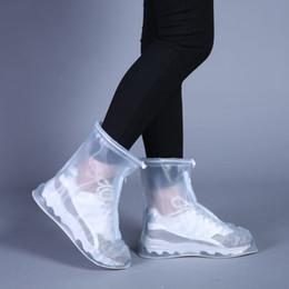 Ботинки для обуви онлайн-Новая Открытые Дождевая обувь Сапоги Охватывает водонепроницаемый скольжению Бот Галоши путешествия Обуви для мужчин женщин детей