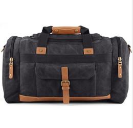 Billige hochwertige handtaschen online-Neue Männer Travel Multifunktions Taschen große Handtasche Erholung schräge Umhängetasche Gepäck Reise Schulter Hohe Qualität Outdoor-Taschen billig Großhandel