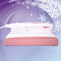 2019 máquinas de massagem facial uso doméstico Massagem Facial Portátil Anti-Envelhecimento HiSkin Máquina de Uso Doméstico 3D HIFU Dispositivo de Aperto de Pele Para Terapia de Remoção de Rugas desconto máquinas de massagem facial uso doméstico