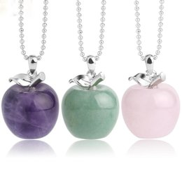 Fashion natural green jade spherical beads pendant necklace Y021