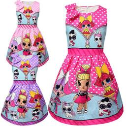 2019 muñeca mariposa Falda con pliegues de la muñeca de INS Hot Girls sorprendente Falda sin mangas de mariposa anudada en mariposa para 3-7T vestido sorpresa del bebé rebajas muñeca mariposa