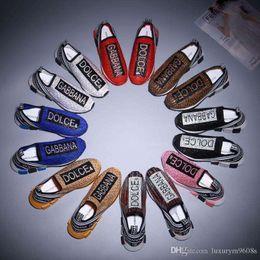 2019 calcetines para zapatillas Zapatillas de deporte de diseñador Entrenador de velocidad Negro Rojo Gypsophila Botas de calcetines planos de moda negro, negro y negro Zapatos casuales Corredor de entrenador de velocidad con bolsa para el polvo calcetines para zapatillas baratos
