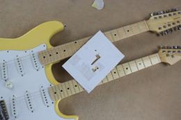 Canada Livraison gratuite Nouveau Style Guitares Double Cou Stratocaster 12 Cordes 6 Cordes Guitare Électrique Instruments de Musique guitare supplier 12 string electric guitar necks Offre