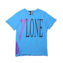 huile rue 88s Vlon marque de mode rétro peinture lettre graffiti fléchée impression hommes et les femmes amants T-shirt manteau de chandail à manches courtes ? partir de fabricateur