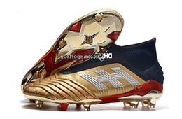 Deutschland 2019 Predator 19 19,1 Fg Pp Paul Pogba 25. Jahrestag Goldene Herren Jungen Fußball Fußballschuhe 19 X Stollen Stiefel Günstige Größe 39-45 Versorgung