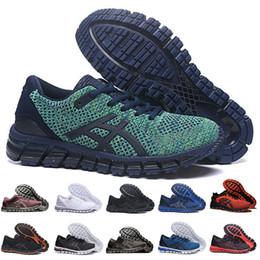 mejores tejidos negros Rebajas Gel-Quantum 360 SHIFT KNIT 2 Zapatillas para correr Estabilidad Verde Triple Negro Blanco Weaves Buffer Zapatillas deportivas para hombre de la mejor calidad Corredores