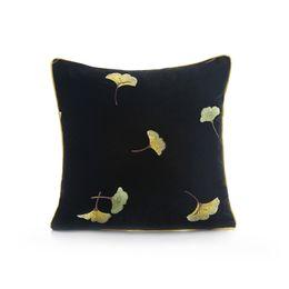 fronhas de luxo bordadas Desconto Luxo bordado travesseiro capa de almofada fronha Para Sofá Escritório Car Home Pillowcase natal ação de graças