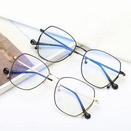 Защита экрана онлайн-Oval Anti Blue Light Goggle Blocking Screen Glasses for Computer Protection Women Men Clear Glasses