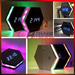 Relógio de espionagem on-line-Relógio colorido Mini Câmera HD 1080 P Night Vision Relógio Eletrônico Sem Fio WI-FI Câmera IP P2P CCTV TV Baby Home Espionagem de Monitoramento de Segurança