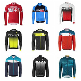 2019 Men Team SCOTT Quick dry Pro Cycling Jersey long sleeves MTB Bike  shirt Cycle Clothing Bicycle Clothes Ropa Ciclismo K010724 9134945e7