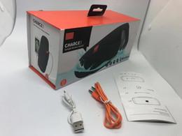 Smartphones d'extérieur en Ligne-E3 Portable haut-parleur sans fil peut charger votre téléphone CHARGE Haut-parleur sans fil Bluetooth HIFI Mini haut-parleurs extérieurs pour smartphones