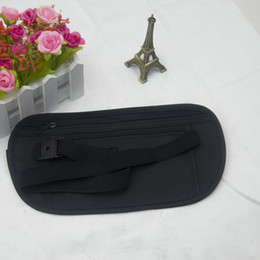 Multi-função ultra-fino saco de telefone de viagem de nylon ao ar livre close-encaixe esportes bolsos à prova d 'água bolsos de corrida invisível 24 * 14 cm de