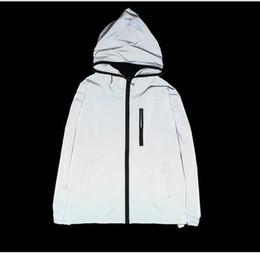 3 m complet veste réfléchissante hommes rue équitation moto nuit brillant shorts sécurité vestes manteau hip hop hommes vestes à capuchon ? partir de fabricateur