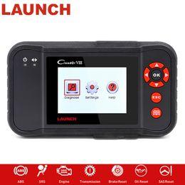 2019 scanner de voiture mahindra X431 Creader VIII 8 OBD2 EOBD Code Scanner Lecteur testeur moteur / ABS / SRS / Airbag + Frein / SAS / huile Réinitialiser ODB2 pk CRP 129 NT 614
