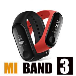 MI BANDA 3 Banda inteligente Pulsera Reloj de ritmo cardíaco Actividad Rastreador de ejercicios pulse Relógios reloj inteligente PK fitbit XIAOMI reloj de manzana desde fabricantes