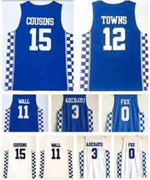 bon prix Kentucky College Trainers 1 BOOKER 23 DAVIS maillots de basket-ball, MENS 3 ADEBAYO 11WALL 0 FOX 12 villes magasin en ligne ? partir de fabricateur