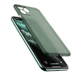 0,3 millimetri ultra sottile morbida PP glassata opaca Candy copertura trasparente flessibile della cassa del telefono di iPhone 11 Pro Max XS XR X 8 7 6 6S più costi di spedizione libero da