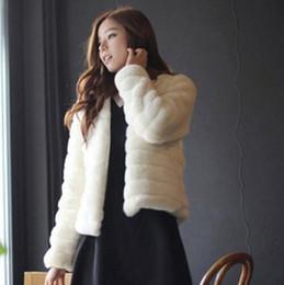 98eecab8d9ad 2019 Winter Women Faux Fur Coat Warm Black Faux Fur Coat Vest Autumn  abrigos mujer Sweater Short Design Women s Big Size Vty6