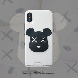 2019 niedlicher bärntelefonkasten Mytoto heißer 3D begrenzter Kaws Bärnspielzeug weicher Silikonabdeckungsfall für iphone 6 S plus 7 7plus 8 8plus X XR XS MAX nette Anti-Falltelefon Funda rabatt niedlicher bärntelefonkasten