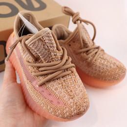zapatos de kevin durant para niños Rebajas 2019 Niños Zapatos de diseñador para niños Zapatos para correr para jóvenes Forma de arcilla Ture Corredor de onda estática Niño Niña Niños Zapatillas de deporte para niños pequeños