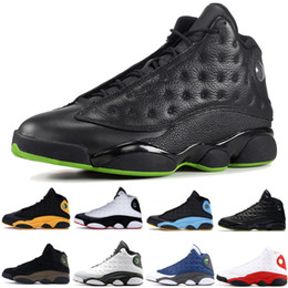 atmosphere shoe Desconto nike air jordon retro Lakers 13 13s New Arrivals tênis de basquete Atmosfera Grey real hiper momentos decisivos para homens vôo Athletics Sports Sneakers