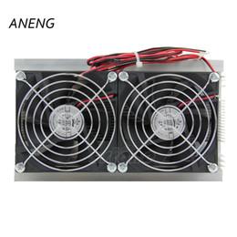 ANENG 1PC Thermoélectric Peltier Kit Système De Refroidissement Refroidisseur Double Ventilateur Neuf ? partir de fabricateur