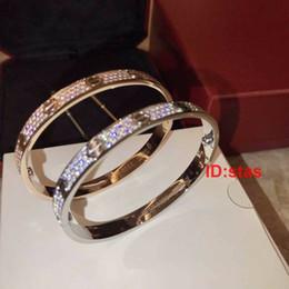 2019 bracelet étoile de diamant Top Qualité Tous Les Étoiles Du Ciel Diamant Rose Or Argent Designer De Luxe Femmes Cadeau Cadeau Hommes Bracelet Bracelet Bracelets Bijoux