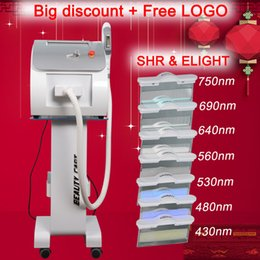 Le plus populaire OPT SHR IPL équipement de beauté laser nouveau style SHR IPL machine ? partir de fabricateur