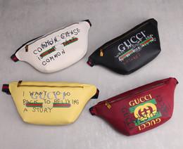 Bolsos de deporte casual online-Diseñador bolso de la cintura para las mujeres para hombre de lujo bolso de moda bolso de la PU bolsa de la cintura deporte ocasional 4 color disponible