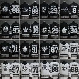 camisetas de hockey sidney crosby barato Rebajas Hombres baratos 88 Brent Burns 97 Connor McDavid 34 Auston Matthews 29 Marc-Andre Fleury 87 Sidney Crosby 2019 All Star Stitched Hockey Jerseys